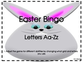 Easter Letter Bingo-For Different Age Groups