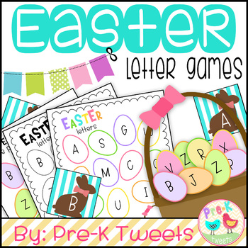 Easter Egg Letter Games