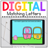 Easter Letter Matching Digital Activity | Distance Learning