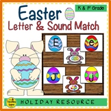 Easter Letter & Sound Match Game