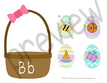 Easter Letter Sounds