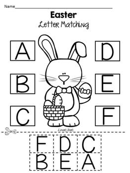 Easter Letter Work