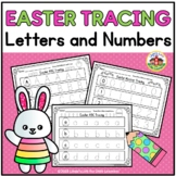 Easter Letter and Number Tracing Printables