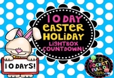 Easter Lightbox Countdown 10 Day