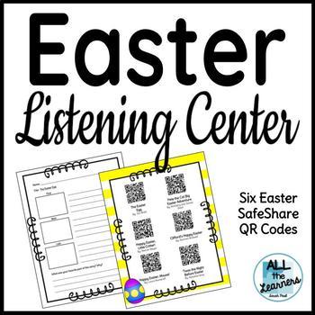 Easter Listening Center {QR Codes}