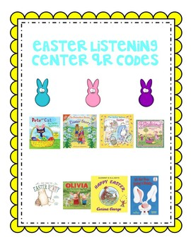 Easter Listening Center with QR codes