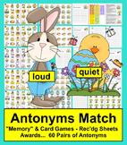 Easter Activities:  Antonyms