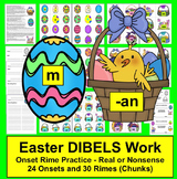 Easter Activities:  Onset Rime Level 1