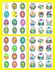 Easter FREE:  ABC & 123 - Alphabet Sequencing, Letter Matc