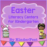 Easter Literacy Centers for Kindergarten