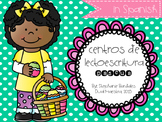 Easter Literacy Centers in Spanish