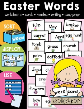 Easter Words and Activities