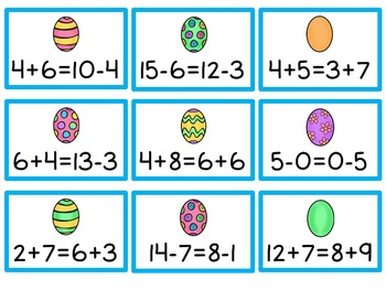 Easter Literacy & Math Centers