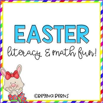 Easter Literacy & Math Fun! Hop to It!