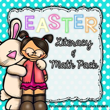 Easter Literacy & Math Pack