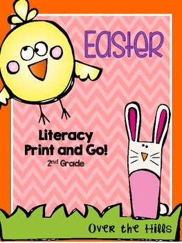 Easter Literacy Print & Go {2nd Grade CCSS}