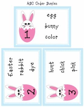 Easter Literacy Unit Pre-K, K, 1