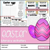 Easter - Literacy activities