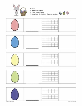 Easter Literacy and Math Centers: Word Families, Number Sense, and More!