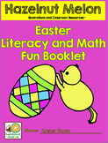 Easter Literacy and Math Fun Booklet