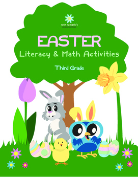 Easter Literacy and Math - Third Grade