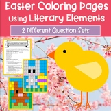 ELA Easter Activity | Easter Coloring Pages