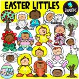 Easter Littles Clip Art Set {Educlips Clipart}