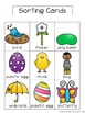 Living and Nonliving: Spring Sorting Activity