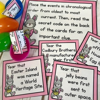 Easter Activity|Lockbox Challenge|Easter Logic Puzzle|Enrichment