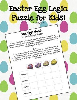 Easter Logic Grid Puzzle!