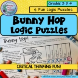 Easter Logic Puzzles, Bunny Hop, Critical Thinking, Early