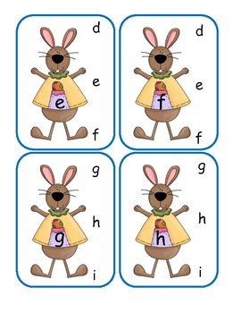 Easter Lower to Lower Clip Cards