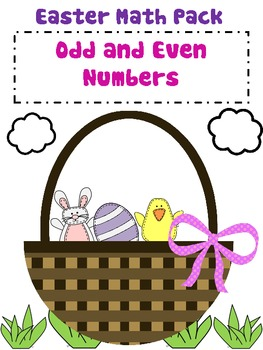 Easter MATH Pack ODD and EVEN numbers!