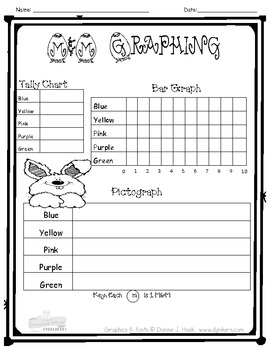 easter m m graphing by mrshernke teachers pay teachers. Black Bedroom Furniture Sets. Home Design Ideas
