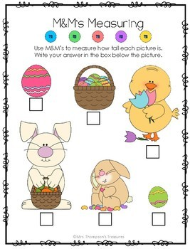Easter M&M's Fun Activity Pack {Graphing, Sorting, Patterns & More}