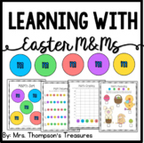 Easter M&M's Activities {Graphing, Sorting, Patterns & More}