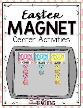Easter Magnet Center Activities
