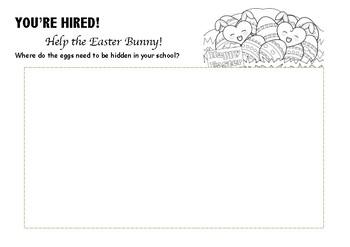 Easter Map FREEBIE!