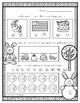 Easter-March/April Morning Work or Homework for Kindergarten