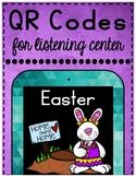 Easter April QR Codes for Listening Center