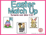 Easter Match Up! Matching Numbers and Arrangements to 20