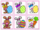 Easter Matching Activities:  Letters, Numbers, Shapes, and More