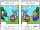 Easter Matching Adapted Book Bundle