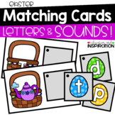 Easter Matching Cards for Letters and Sounds