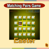 Easter Matching Pairs Game Grade 1-4