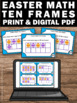 10 Frames Counting, Kindergarten Easter Math Activities, How Many More