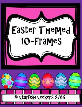 10 Frames - Easter Themed