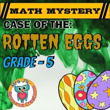Easter Math Activity: Math Mystery - Case of The Rotten Eg