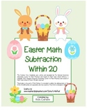 """""""Easter Math"""" 2 Digit Addition Without Regrouping - Fun! (color)"""