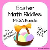 Easter Math Riddles MEGA Bundle (Save 52%)